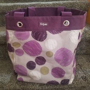 Thirty One 31 Essential Storage Tote Bag Sketchy D
